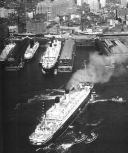 Chelsea Piers circa 1950